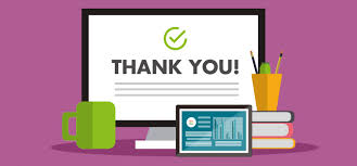Marketing Automation Conversion - thank you page
